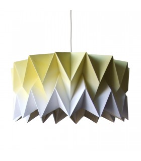 BU ORIGAMI LAMP YELLOW GRADIENT - L