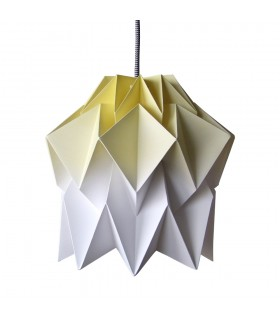 KUKI ORIGAMI LAMP - YELLOW GRADIENT - M SIZE