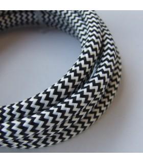 SEKOND - Cord set, black/white textile