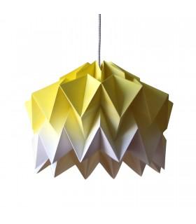 FIFO ORIGAMI LAMP YELLOW GRADIENT