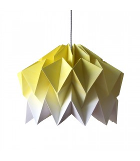 FIFO ORIGAMI LAMP YELLOW GRADIENT