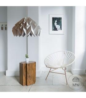 Phi origami lamp gray - L