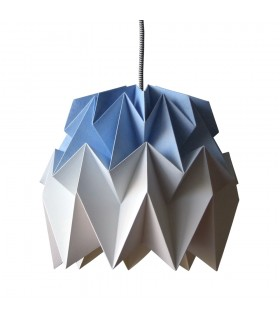 KIKI ORIGAMI LAMP BLUE GRADIENT - M