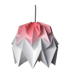 KIKI ORIGAMI LAMP RED GRADIENT - M
