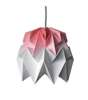 LAMPA ORIGAMI KIKI GRADIENT ROSU - M