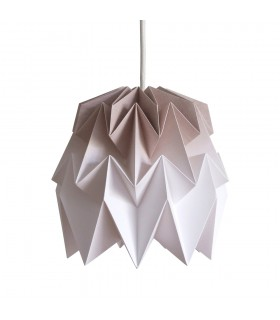 Kiki origami lamp tortilla brown gradient - S