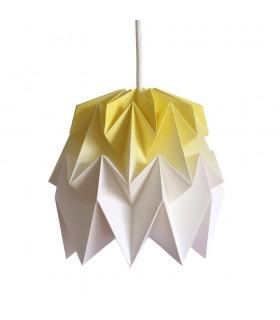 Kiki origami lamp yellow gradient - S