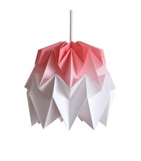 Kiki origami lamp red gradient - S