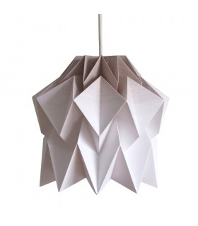 Kuki Origami Lamp - tortilla brown gradient - S Size