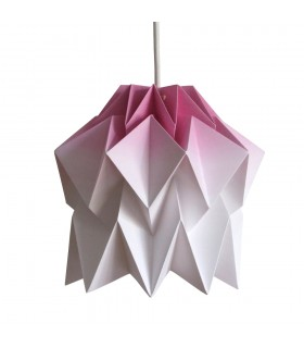 Kuki Origami Lamp - purple gradient - S Size