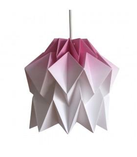 Lampa origami Kuki gradient violet - Marime S