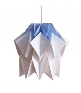 Lampa origami Kuki gradient albastru - Marime S