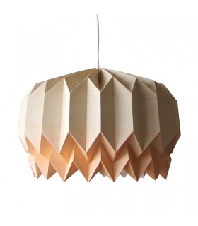 TULIP ORIGAMI LAMP - COFFE / ORANGE GRADIENT