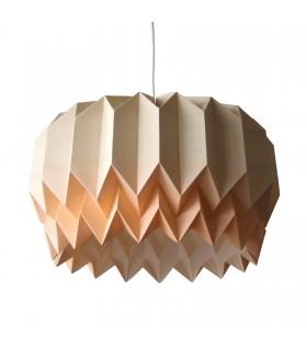 TULIP ORIGAMI LAMP - COFFE / ORANGE GRADIENT